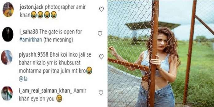 after aamir khan divorce due to bold photoshoot once again fatima sana shaikh trolled