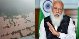 Agriculture Minister Narendra Singh Tomar announces Rs 700 crore assistance from Center for flood-hit farmers in the state