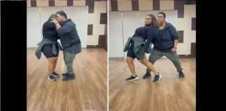 Ganesh Acharya and his daughter soundarya acharya amazing dance performance going viral