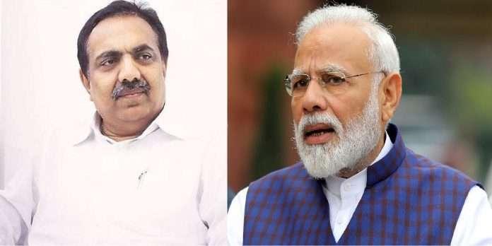 jayant patil slam PM narendra modi