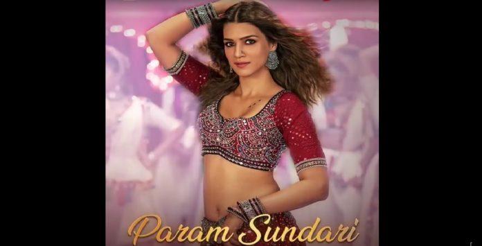 kriti sanon upcoming film mimi s first song param sundari will be released on 16 july