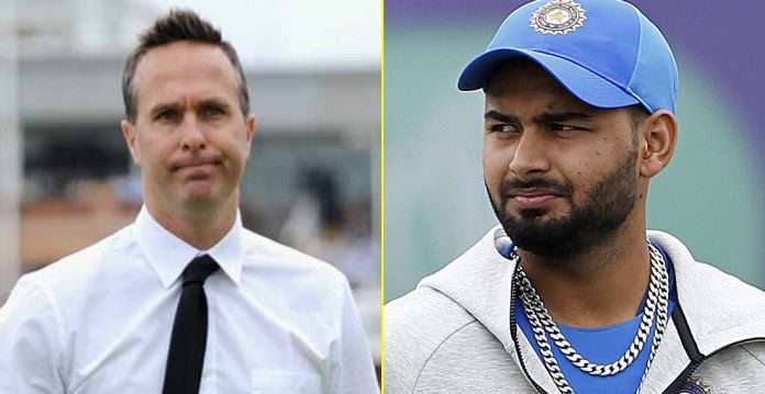Michael Vaughan fears for india vs england series after rishabh pant tested positive for covid