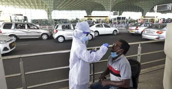 no need for covid test at airport