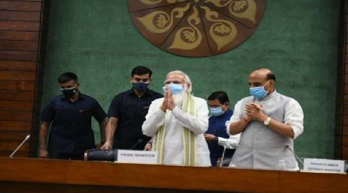 PM Modi said all party leaders to government ready for meaningful discussion in the House