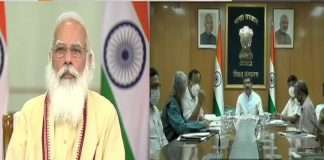 Modi's advice in the first cabinet meeting Don't talk too much with media till August 15