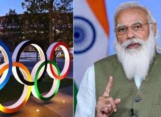 pm narendra modi on tokyo olympics