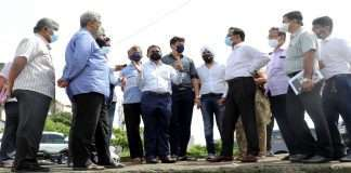 Gadhi in Panvel will build a protection wall near the river