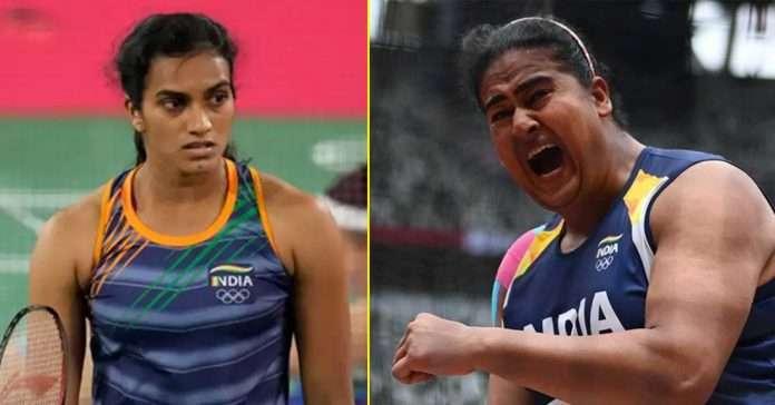 pv sindhu lost while kamalpreet kaur entered final