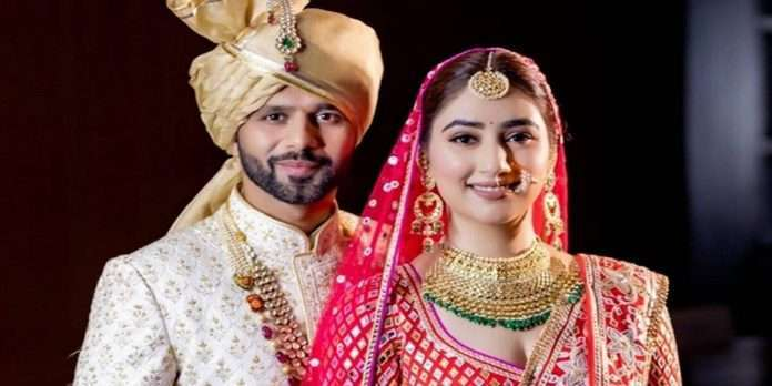 Rahul-Disha tied the knot, see some special moments in the wedding ceremony