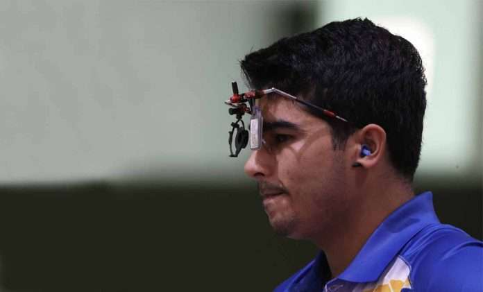 Saurabh Chaudhary finishes in seventh place