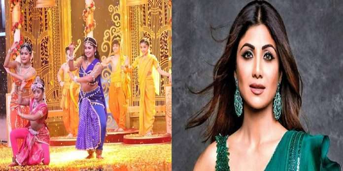 Shilpa Shetty was amazed to see a dance performance based on a story from Ramayana