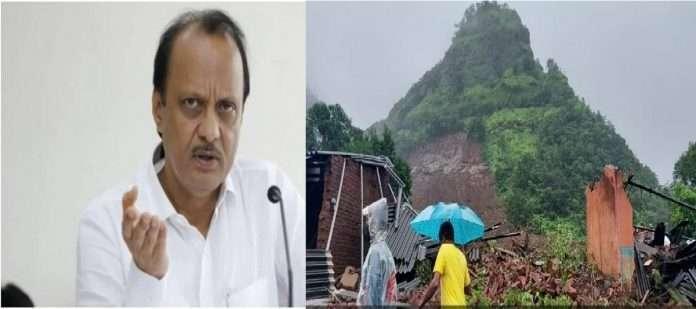 taliye village landslide prone area