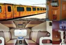 Experience the comfort of Tejas coaches in Rajdhani Express!