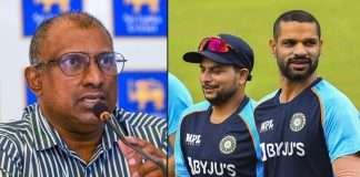 this is not india b team says aravinda de silva