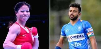 tokyo olympics Mary Kom and Manpreet Singh named as India's Flag Bearers At Opening Ceremony