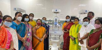 ICU of 20 beds set up for Newborn babies in Bhandup