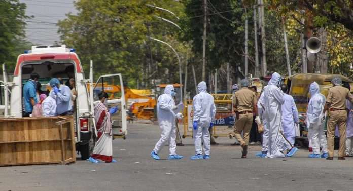 India reports 45,083 new Covid-19 cases, 460 deaths in 24 hours