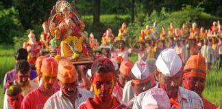 Ganeshotsav 2021 hugs crowd of people sindhudurga ganesh festival shopping