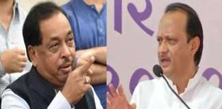 Narayan rane answer to ajit pawar statement