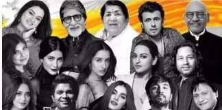 Amitabh Bachchan, Lata Mangeshkar and Others Collaborate for Patriotic Song 'Hum Hindustani'