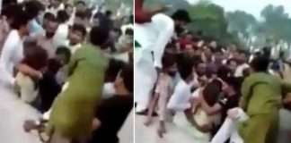 Female TikToker thrown in air by crowd in Pakistan, clothes torn, mobile stolen