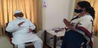 Anna Hajare refused to discuss with Jyoti Deore
