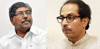 chandrakant patil allegations on thackeray government run with help of police and goons
