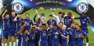 Chelsea win uefa super cup