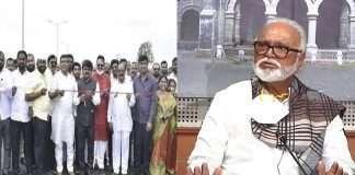 Chhagan Bhujbal not happy over Shiv Sena MP Hemant Godse inaugurated the flyover