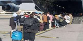 Large numbers of people have been evacuated from Afghanistan,say British Prime Minister
