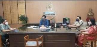 Meeting reagarding Delta at Collector Office