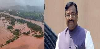 Sudhir mungantivar slam govt over aid for flood victims