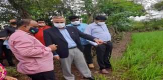 Green work will be accelerated in Shahapur Visit of Israeli Consul to Shahpur