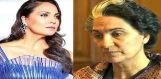 actress lara datta transformation for bellbottom movie playing indira gandhi look,Lara's makeup artist is appreciated everywhere