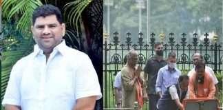 Vaibhav Naik criticize Narayan Rane on Balasaheb Thackeray memorial blessing