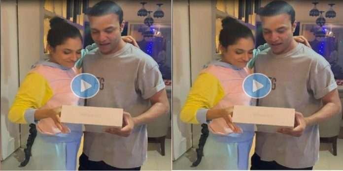 Ankita gave a special birthday present to her boyfriend Vicky Jain