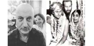 Anupam Kher wished Kirron Kher on marriage anniversary