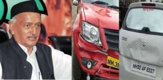 Accident of 3 vehicles of the Governor's convoy no loss of life and injured