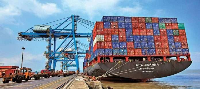 Container transport at JNPT port increased by 40.40% in the first half