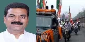 Union Minister of State for Panchayat Kapil Patil in Raigad district for jan ashirwad yatra