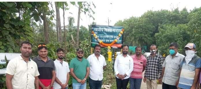 BJP names Kashid bridge as Vijay Chavan bridge