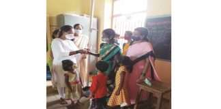 Search operation for malnourished children in Raigad district