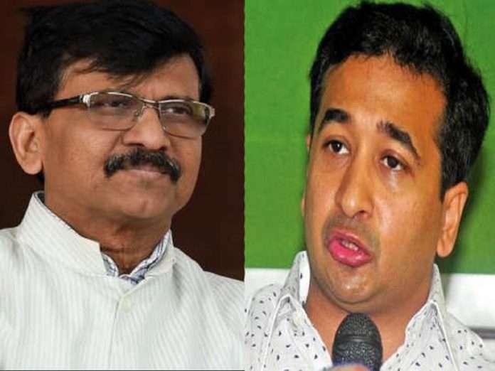MP Sanjay Raut slams to nitesh rane