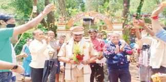 Farewell to Matheran police officer