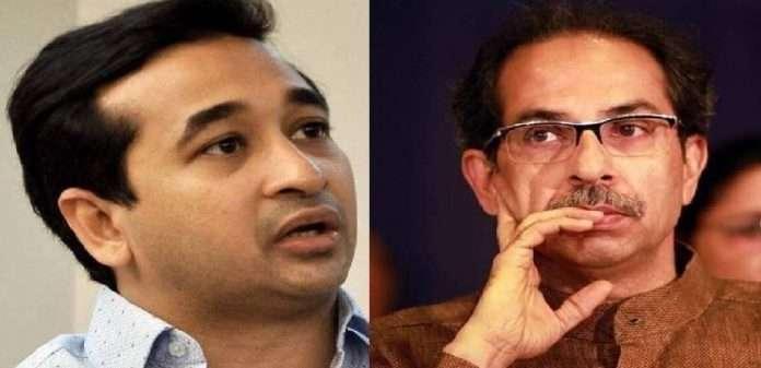 nitesh rane reaction on uddhav thackeray offer for alliance