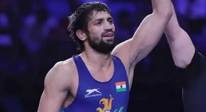indian wrestler Ravi Kumar Dahiya