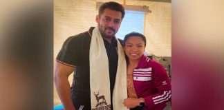 Mirabai Chanu meets dabang star Salman Khan