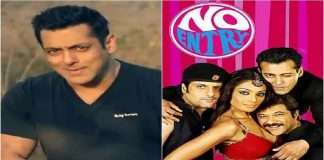 Salman Khan All Set For No Entry sequel with a lead role