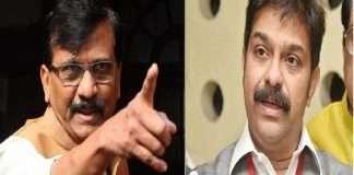 sanjay raut slams bjp leader prasad lad on his shivsena bhavan statement ShivSena challenged to bjp