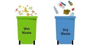 wet and dry waste
